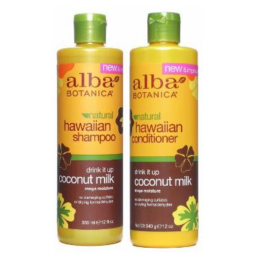 Alba Coconut Milk Shampoo and Conditioner Set